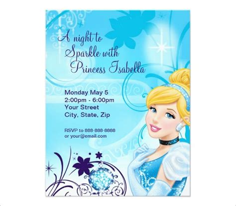 cinderella invitation to the template 13 amazing cinderella invitation templates designs