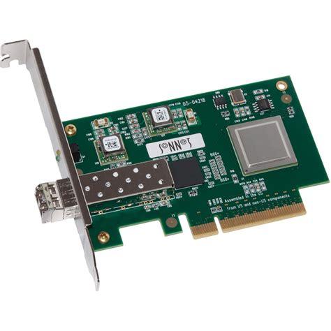 D Link 10 Gigabit Ethernet Sfp Pci Express Adapter Card Dxe 810s sonnet 1 port presto 10 gbe ethernet pcie adapter card