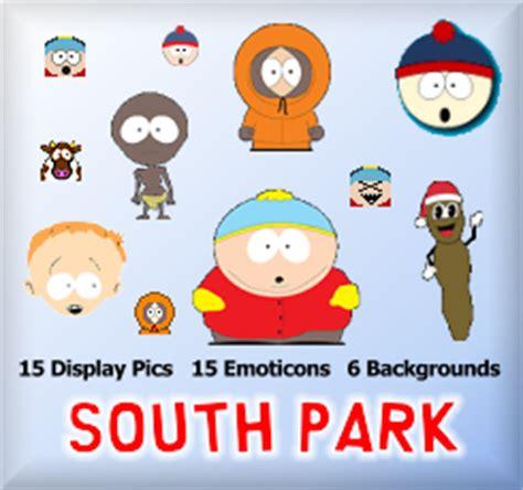 sherv net new simpsons msn pack msn emoticons display pics sherv net south park msn pack msn emoticons display