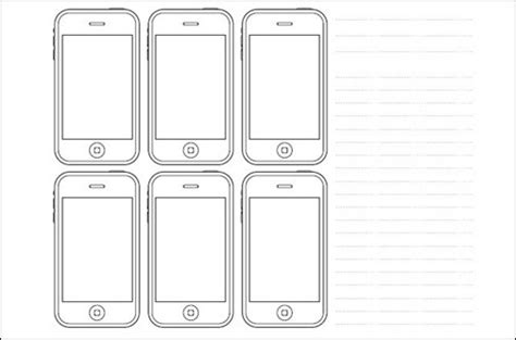 iphone layout design template related keywords suggestions for iphone sketch template