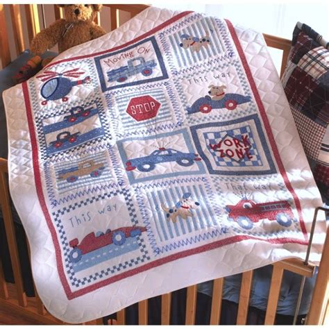 Baby Quilt Kits Weekend Kits Bucilla Cross Stitch Kits For Baby