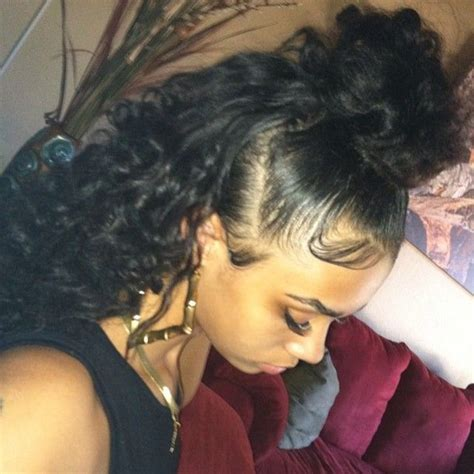 hairstyles that are curly on the edges god himself laid her edges image 3386848 by helena888