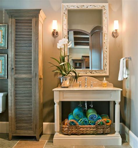 beautiful bathroom towel display and arrangement ideas