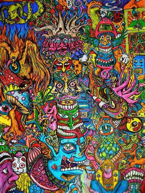 imagenes locas psicodelicas trippy weed tumblr