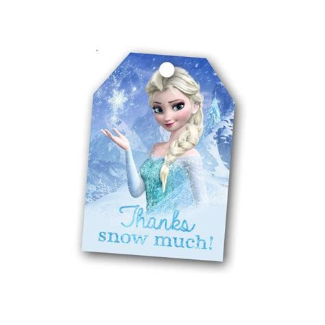 printable frozen thank you cards instant download frozen thank you favor tags elsa