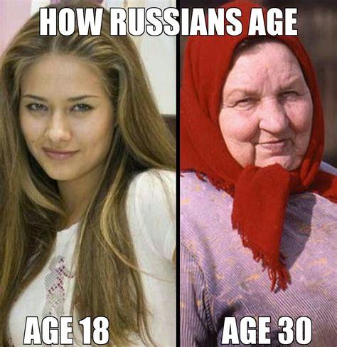 Asian Women Aging Meme - ロシア人女性は一定の年齢を超えると急に老けると海外掲示板で話題に 海外の反応 暇は無味無臭の劇薬