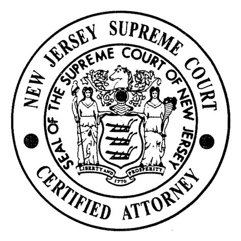 New Jersey Superior Court Records Nj Supreme Court Certified Attorneys Szaferman Lakind