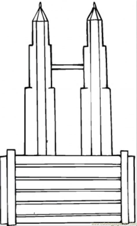 Skyscraper Coloring Page free coloring pages of building skyscrapers