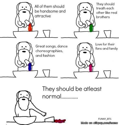 When God Made Me Meme - how god created bts x x allkpop meme center