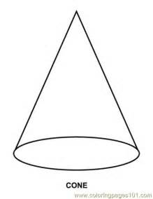 cone coloring page free coloring pages of cone
