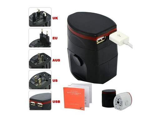 Universal Travel Adapter Jy 166b C 3 Usb 4 5a Plus Type C Port 2553 world travel adapter usb universal travel ac power adapter adaptor adapter dual usb