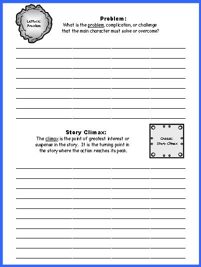 grade 2 book report template