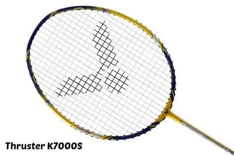 Raket Victor K9000 victor thruster archives paul stewart advanced badminton