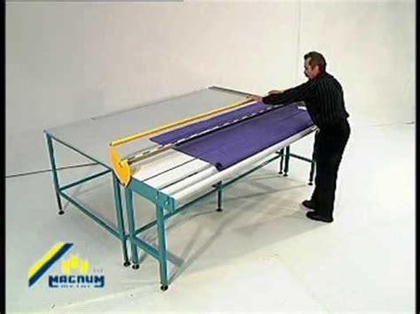 sani usa com roller shade fabric cutting table manual
