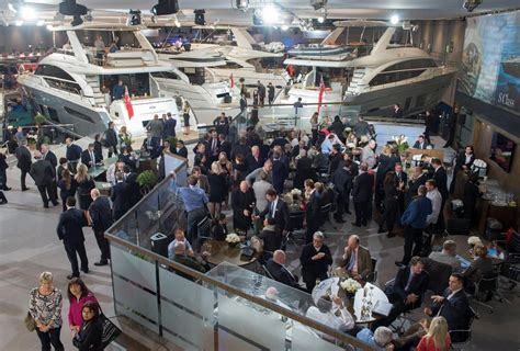 january boat show success at january boat shows for princess motor yacht sales