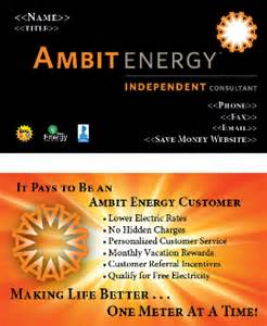 ambit energy business cards