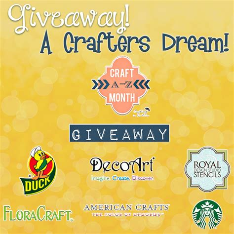 Craft Giveaway - craft giveaway to end national craft month inkhappi
