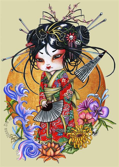 geisha tattoo prints geisha tattoo ideas and geisha tattoo designs page 81