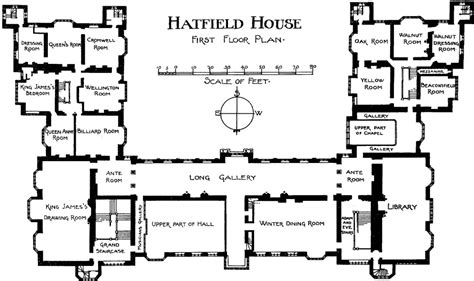 Floor Plan Online bishop s hatfield british history online