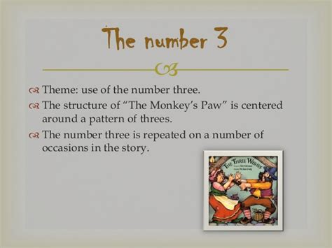 the monkey s paw theme essay the monkey s paw a unit for teaching the story to