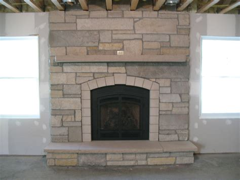cobblestone fireplace pictures of fireplaces casual cottage
