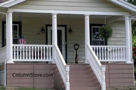 Add Curb Appeal - structural vinyl porch columns columns for front porch vinyl porch posts