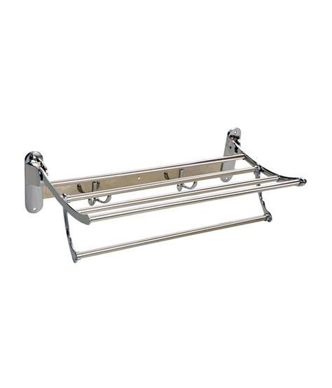 buy doyours 24 inch folding towel rack with rail ss304