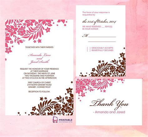 admirable wedding invitation templates free download wedding ideas