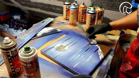 how to spray paint on canvas island canvas spray paint by ren 233 sch