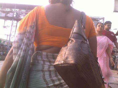 pakistani aunties back view blouse back real life aunty exbii silk pintuck blouse