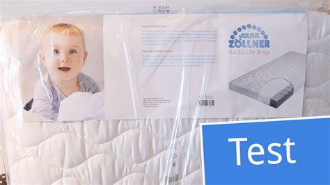 matratze babybett test test julius z 246 llner babymatratze air allround