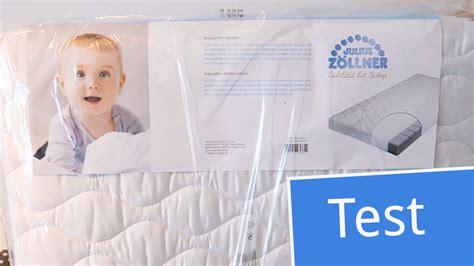 matratze julius zöllner test test julius z 246 llner babymatratze air allround