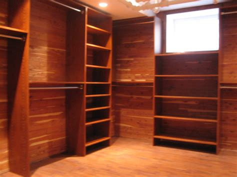 Cedar In Closet by Custom Closet In Basement Traditional Closet Other