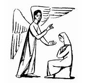 Annunciation Of Mary Clipart  Clip Art Library