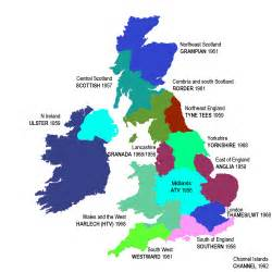 regional map the history of commercial television 1955 to 1982