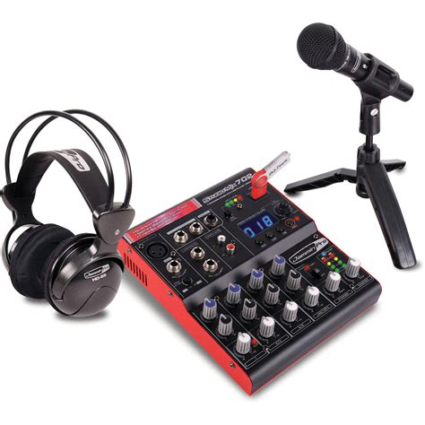 Usb Recorder jammin studiopack702 7 channel mixer with usb studiopack
