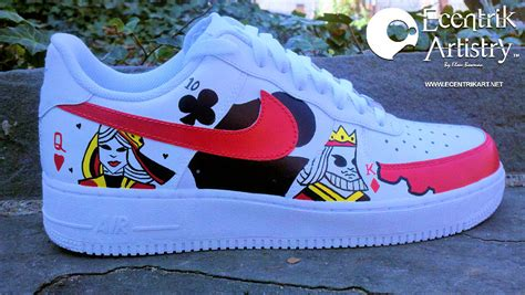 """""""Poker Face"""" Custom Air Force One Low"""