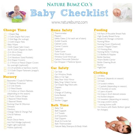 things you need to buy for a new house nature bumz co s new baby checklist everything you