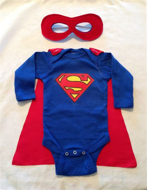 Babycape Polos superman or superwoman baby with