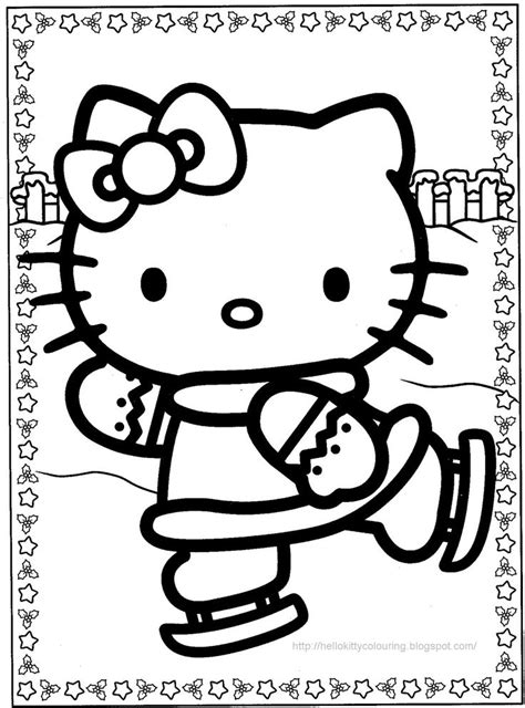 coloring pages of hello kitty christmas hello kitty christmas coloring page hello kitty coloring