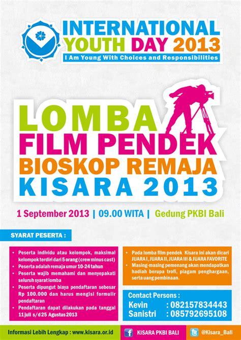 Film Pendek Remaja | poster lomba film pendek bioskop remaja kisara2013 by