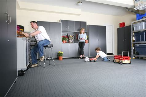Garage Flooring Solutions: Epoxy, Tiles And Covers