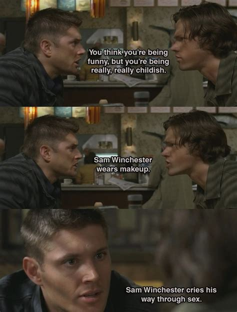 Supernatural Meme - like the canyon the wreath