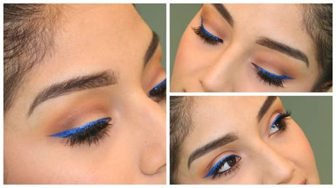 eyeliner color for brown eye makeup for brown nyx blue