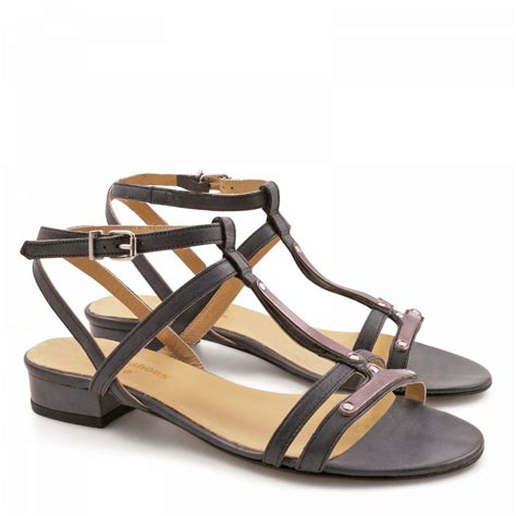 italian leather sandals womens leather strappy flat sandals for made in italy