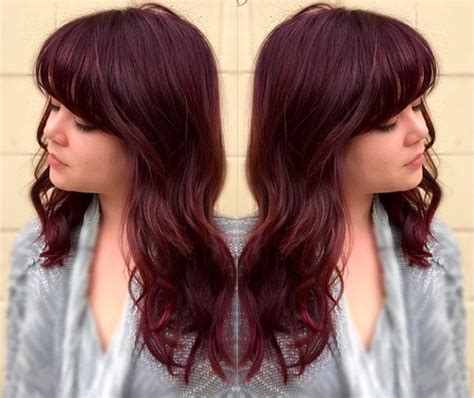 cherry coke hair color hair color inspiration