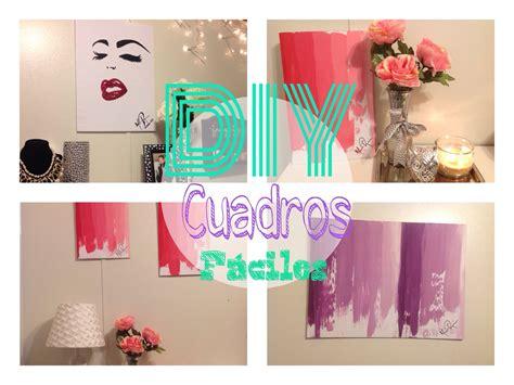 decoraciones de cuadros diy cuadros lindos para decorar tu habitaci 243 n