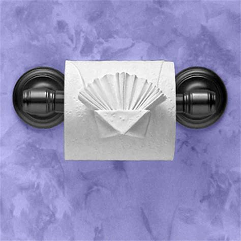 Fancy Toilet Paper Folds - hotel toilet paper folding