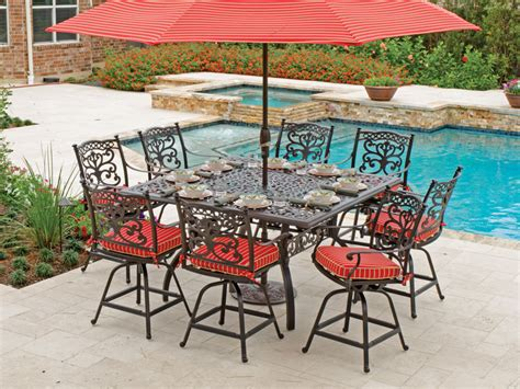 cast iron patio dining set dining rooms splendid cast