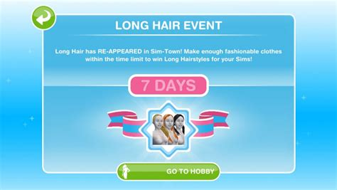 sims freeplay how to get long hair sims freeplay long hair event returns full guide